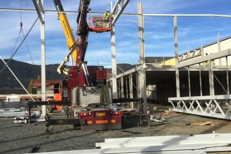 Crane Montage - Norway